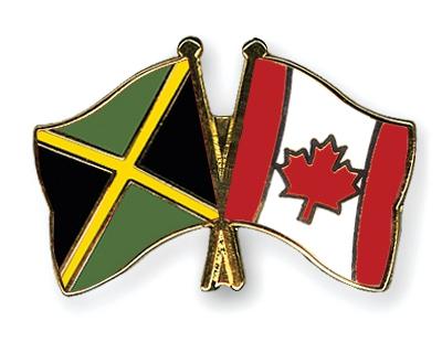 jamaica/canada flags